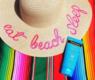 sunscreen, summer, skin care, blog, tips, lifestyle