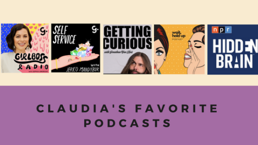 Podcasts, queer eye, girlboss, self love, self care, funny
