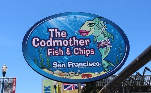 Cod Mother, San Francisco, FIsh and chips, british food, original fish and chips