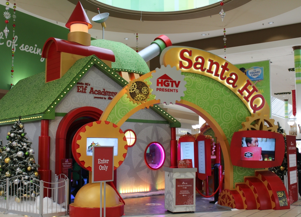santa, lakewood mall, lakewood