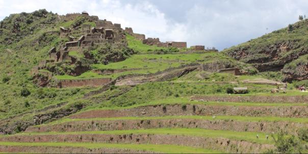Pisac, Peru, Inkas